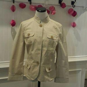 Woman's khaki jacket
